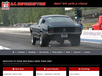 Drag Racing Website